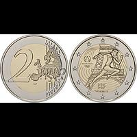 Frankreich 2021 2 Euro Läuferin bfr