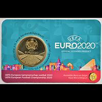 Belgien 2021 2,5 Euro UEFA Fußball EM NL-Variante Stgl.