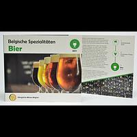 Euro KMS Belgien Bier WMF 2021 Stgl.