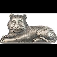 Mongolei 2022 1000 T Charmanter Tiger - Antik Finish Stgl.