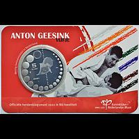 5 Euro Geesink 2021 Stgl. Niederlande Coincard