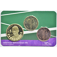 0,25 Euro Krajicek 2021 Stgl. Niederlande Coincard