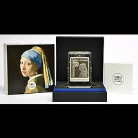 50 Euro Vermeer 2021 PP Frankreich Silber
