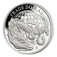Saint Helena 2021 1 Pfund Chinesischer Handelsdollar PP