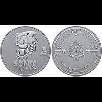 Niue 2021 2 Dollar Sonic der Igel Bullion 1 oz Stgl.