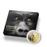 Kongo 2021 3000 Fr Gorilla Stgl.