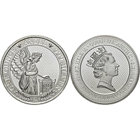 Saint Helena 2021 1 Pfund Napoleons Engel Stgl.